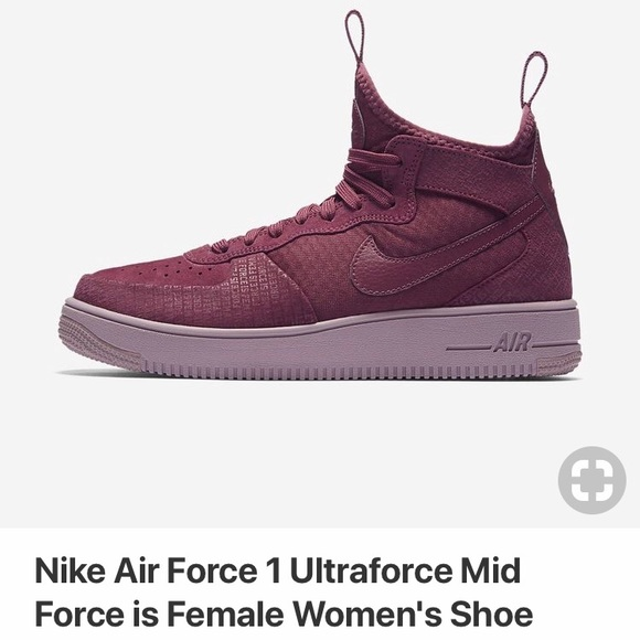 cheap for discount 0fcef c6e08 NIKE Air Force 1 Ultraforce Mid Force is Female
